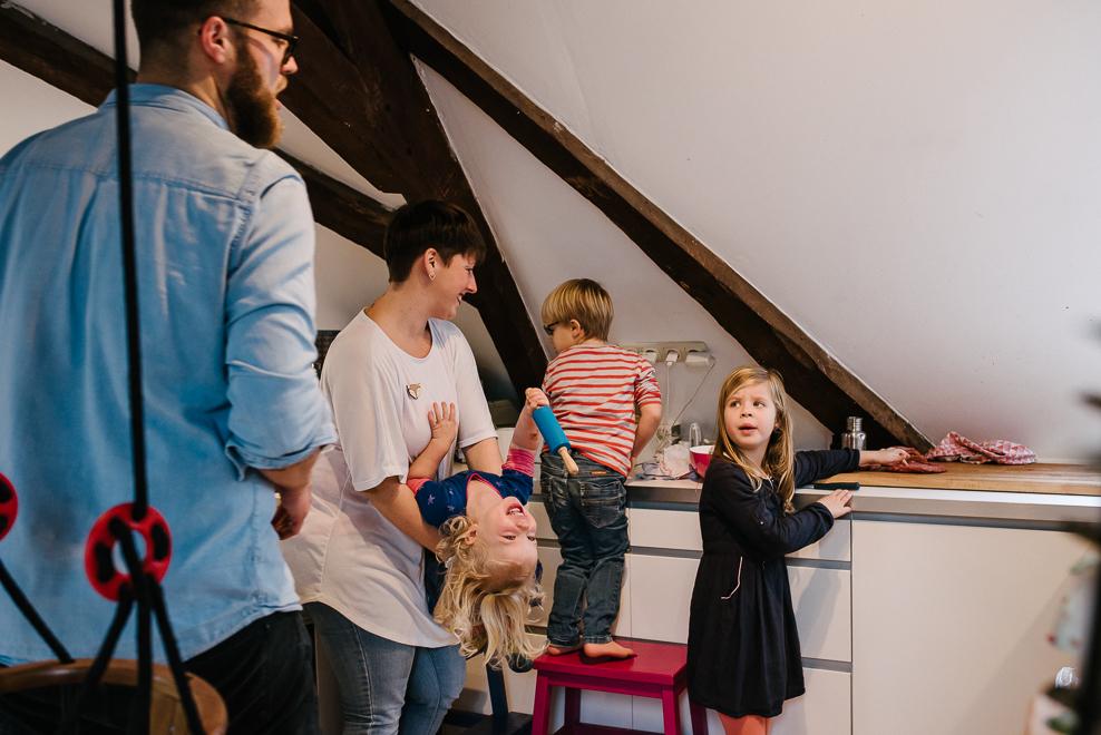 dokuemntarische familienfotografie pizza backen fotografin marburg