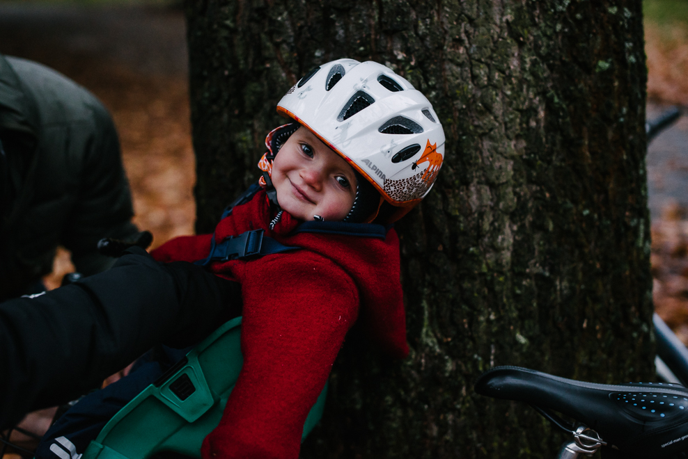 authentische kinderportraits marburg fahrradtour