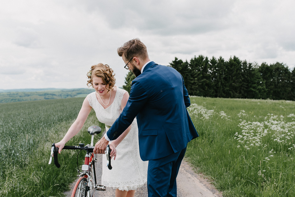 familienhochzeit fahrrad velo marburg