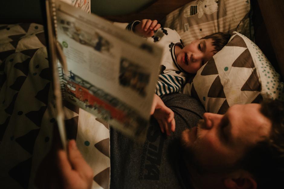 familienfotografie gute nacht geschichte