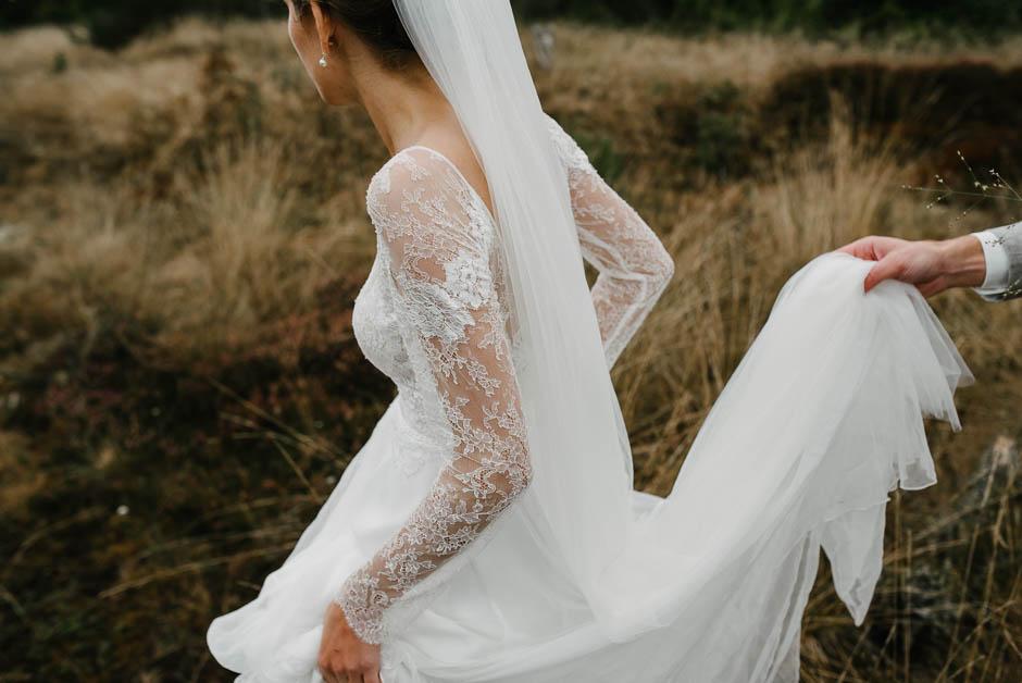 details hochzeitskleid